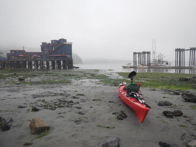 Launching from Tofino Kayak Launch