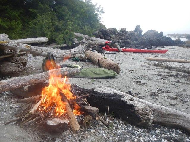 Blunden Island campsite.